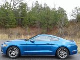 2017 Lightning Blue Ford Mustang Ecoboost Coupe #136813275
