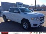 2020 Bright White Ram 1500 Big Horn Quad Cab 4x4 #136826659