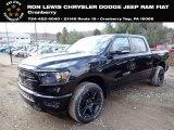 2020 Diamond Black Crystal Pearl Ram 1500 Big Horn Crew Cab 4x4 #136843419
