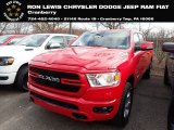 2020 Flame Red Ram 1500 Big Horn Crew Cab 4x4 #136843418