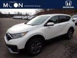 2020 Platinum White Pearl Honda CR-V EX-L AWD #136843503