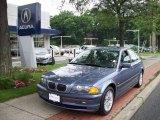 2000 Steel Blue Metallic BMW 3 Series 328i Sedan #13680600
