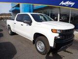 2020 Summit White Chevrolet Silverado 1500 WT Crew Cab 4x4 #136858965