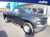 2020 Shadow Gray Metallic Chevrolet Silverado 1500 WT Regular Cab 4x4 #136858962