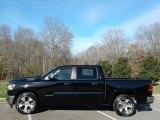 2020 Diamond Black Crystal Pearl Ram 1500 Laramie Crew Cab #136858606