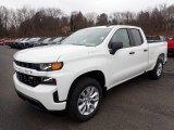 2020 Summit White Chevrolet Silverado 1500 Custom Double Cab 4x4 #136858797