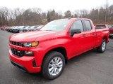 2020 Red Hot Chevrolet Silverado 1500 Custom Double Cab 4x4 #136858796