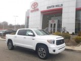 2020 Super White Toyota Tundra Platinum CrewMax 4x4 #136858712
