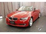 2009 Crimson Red BMW 3 Series 335i Convertible #13662472