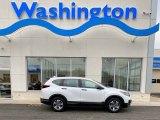 2020 Platinum White Pearl Honda CR-V LX AWD #136858706