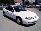 2003 Olympic White Chevrolet Cavalier Coupe #13662221