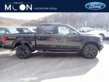 2020 Agate Black Ford F150 Lariat SuperCrew 4x4 #136886912