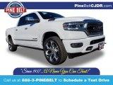 2020 Bright White Ram 1500 Limited Crew Cab 4x4 #136900273