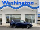 2020 Obsidian Blue Pearl Honda CR-V EX-L AWD #136900306
