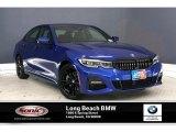 2020 Portimao Blue Metallic BMW 3 Series 330i Sedan #136900419