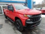 2020 Red Hot Chevrolet Silverado 1500 Custom Trail Boss Crew Cab 4x4 #136900302