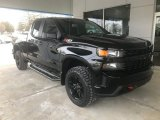 2020 Black Chevrolet Silverado 1500 Custom Trail Boss Double Cab 4x4 #136918805