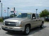 2007 Sandstone Metallic Chevrolet Silverado 1500 Classic LS Crew Cab #13669550