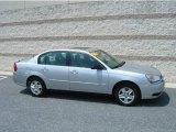2005 Galaxy Silver Metallic Chevrolet Malibu LS V6 Sedan #13683358