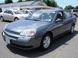 2005 Medium Gray Metallic Chevrolet Malibu LS V6 Sedan #13671924