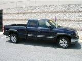 2005 Dark Blue Metallic Chevrolet Silverado 1500 Z71 Extended Cab 4x4 #13683361