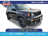2020 Black Jeep Renegade Latitude 4x4 #136954696