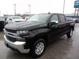 2020 Black Chevrolet Silverado 1500 LT Crew Cab 4x4 #136954938