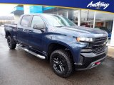 2020 Northsky Blue Metallic Chevrolet Silverado 1500 LT Trail Boss Crew Cab 4x4 #136954980