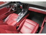 2018 Porsche 911 Turbo Cabriolet Black/Bordeaux Red Interior