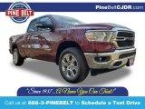 2020 Delmonico Red Pearl Ram 1500 Big Horn Quad Cab 4x4 #136954699