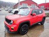 2020 Colorado Red Jeep Renegade Latitude 4x4 #136954827