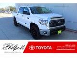 2020 Super White Toyota Tundra TSS Off Road CrewMax #136978189