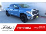 2020 Cavalry Blue Toyota Tundra TSS Off Road CrewMax 4x4 #136978193