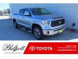 2020 Silver Sky Metallic Toyota Tundra Platinum CrewMax 4x4 #136978192