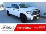 2020 Super White Toyota Tundra TSS Off Road CrewMax 4x4 #136978191