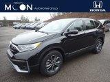 2020 Crystal Black Pearl Honda CR-V EX AWD #136980426