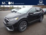 2020 Crystal Black Pearl Honda CR-V EX AWD #136980424