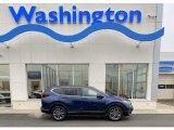2020 Obsidian Blue Pearl Honda CR-V EX AWD #136980373