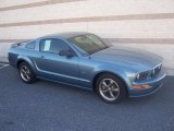 2005 Windveil Blue Metallic Ford Mustang GT Premium Coupe #13683394