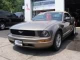 2005 Mineral Grey Metallic Ford Mustang V6 Deluxe Convertible #13677200
