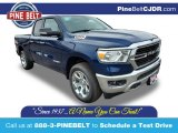 2020 Patriot Blue Pearl Ram 1500 Big Horn Quad Cab 4x4 #136980327