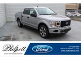 2020 Iconic Silver Ford F150 STX SuperCrew #136995474