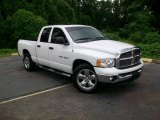 2005 Bright White Dodge Ram 1500 SLT Quad Cab #13674893