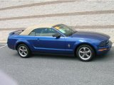2006 Vista Blue Metallic Ford Mustang V6 Premium Convertible #13683417