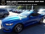 2017 Lightning Blue Ford Mustang Ecoboost Coupe #137014160