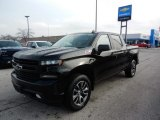 2020 Black Chevrolet Silverado 1500 RST Crew Cab 4x4 #137032217