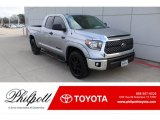 2019 Silver Sky Metallic Toyota Tundra TSS Off Road Double Cab 4x4 #137032117