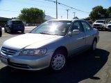 2002 Satin Silver Metallic Honda Accord LX Sedan #13682214