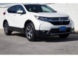 2020 Platinum White Pearl Honda CR-V EX #137032061