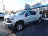 2020 Silver Ice Metallic Chevrolet Silverado 1500 LT Crew Cab 4x4 #137083864